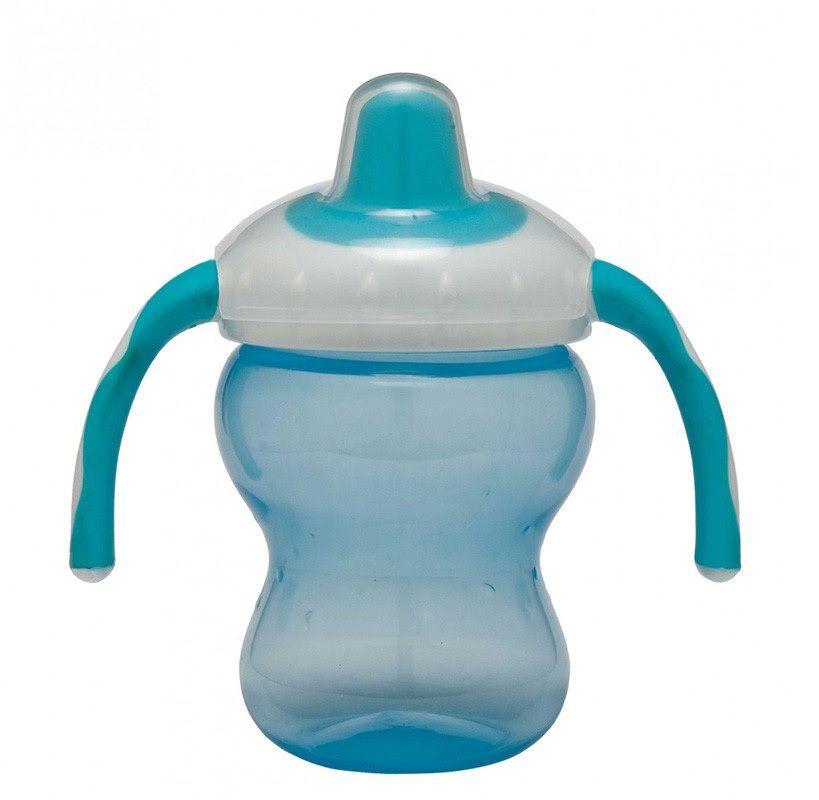Copo com Alça Azul Antirespingo - Girotondo Baby