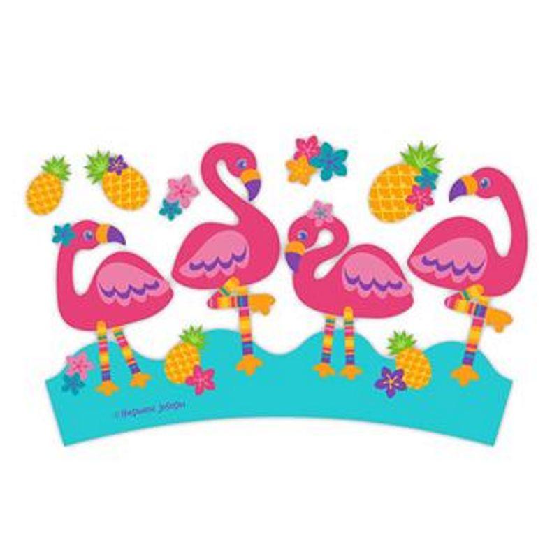 Copo com Tampa e Canudo Flamingo - Stephen Joseph