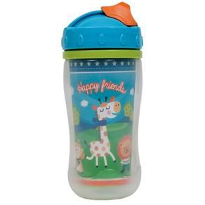 Copo com tampa Happy Friends 320ml - Buba Baby