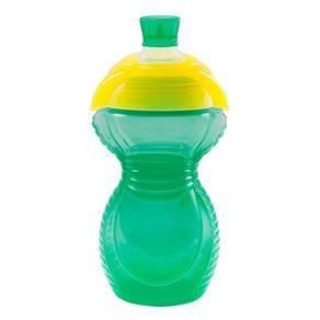 Copo Munchkin Click Lock - Verde e amarelo