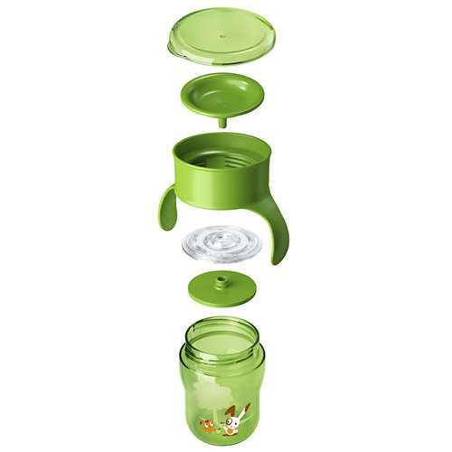Copo Natural Philips Avent Verde - 260ml