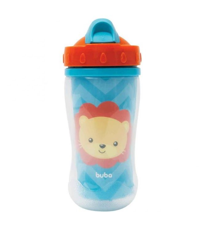 Copo Parede Dupla Leão 320ml - Buba Baby