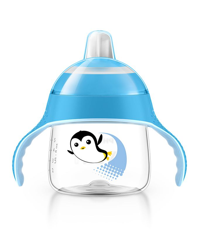 Copo Pinguim Philips Avent - 200ml Azul