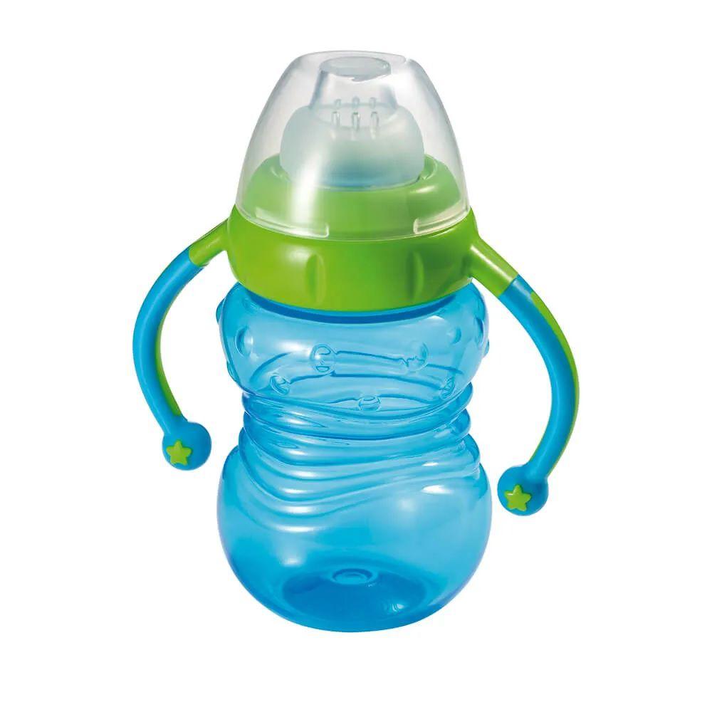 Copo Treinamento Bebedor Silicone - Multikids Baby Azul
