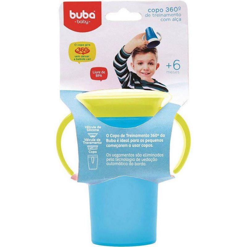 Copo Treinamento com Alça Buba Baby - Azul