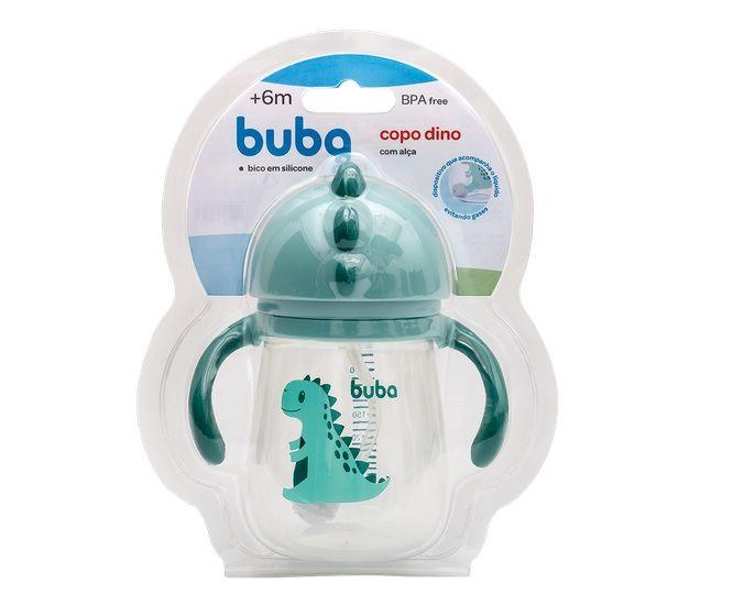 Copo Treinamento com Alça Dino - Buba Baby