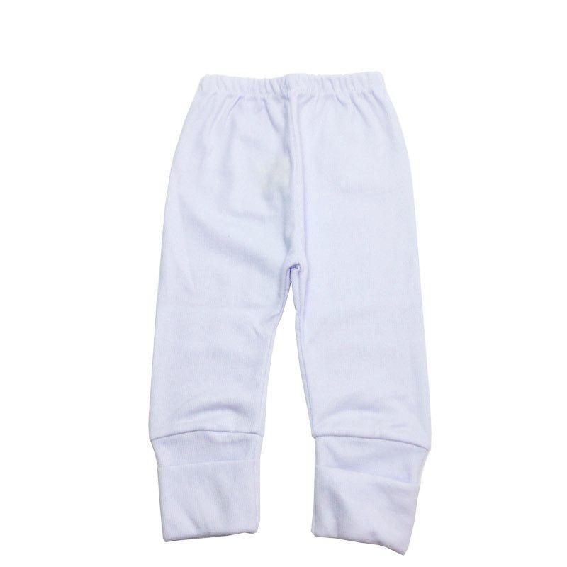 Culote Pé Reversível Branco - Top Chot