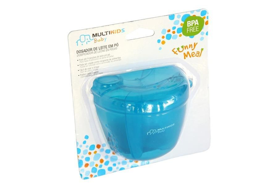 Dosador de Leite em Pó Azul - Multikids Baby