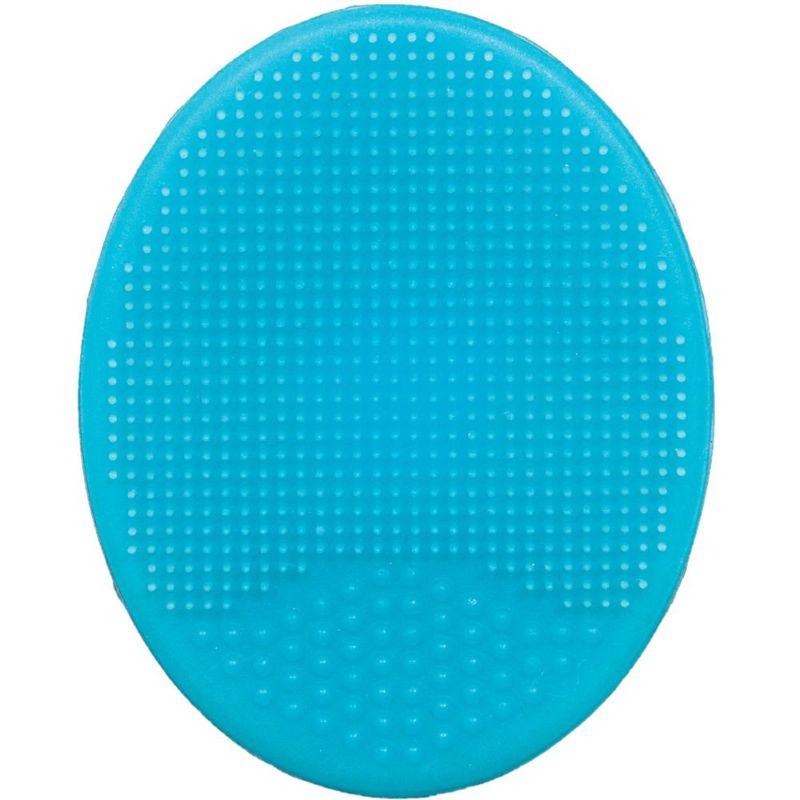 Escova de Banho em Silicone Azul - Buba Baby