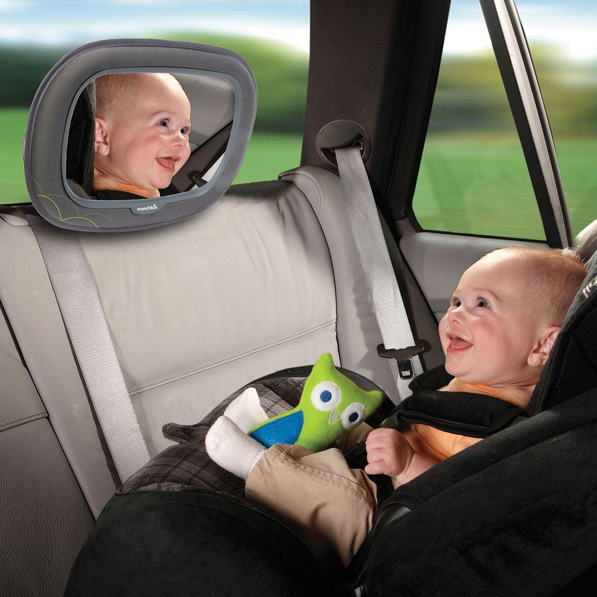 Espelho de Carro Encosto Banco Traseiro Grande - Munchkin