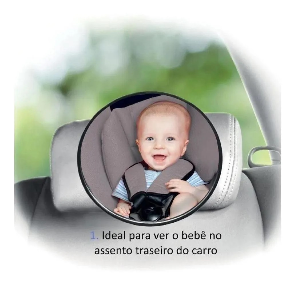 Espelho retrovisor para banco traseiro - Buba Baby