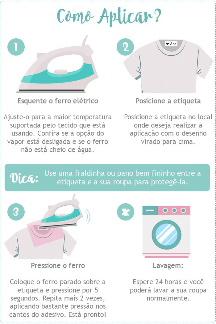 Etiqueta Para Uniforme Personalizada Menina - Baby