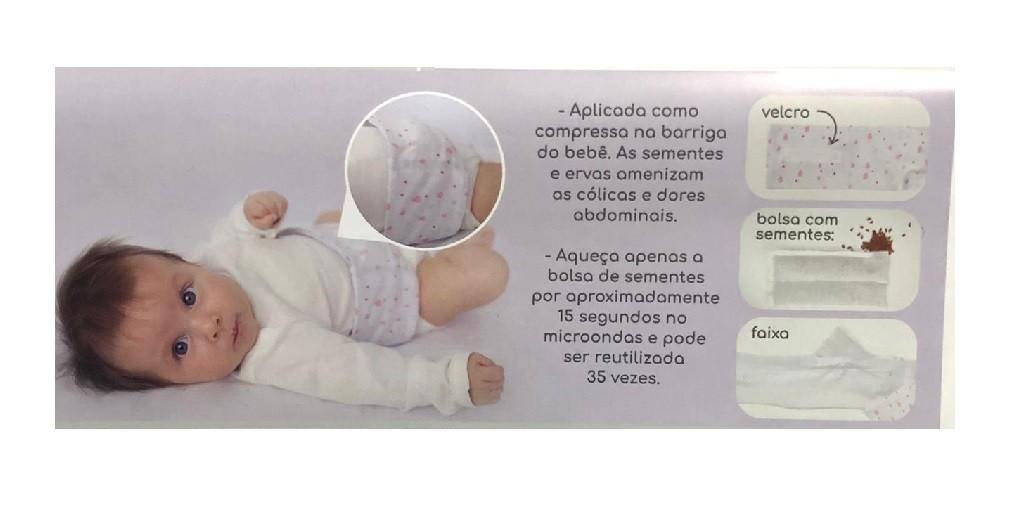 Faixa Térmica Abdominal - Papi - Estrelas