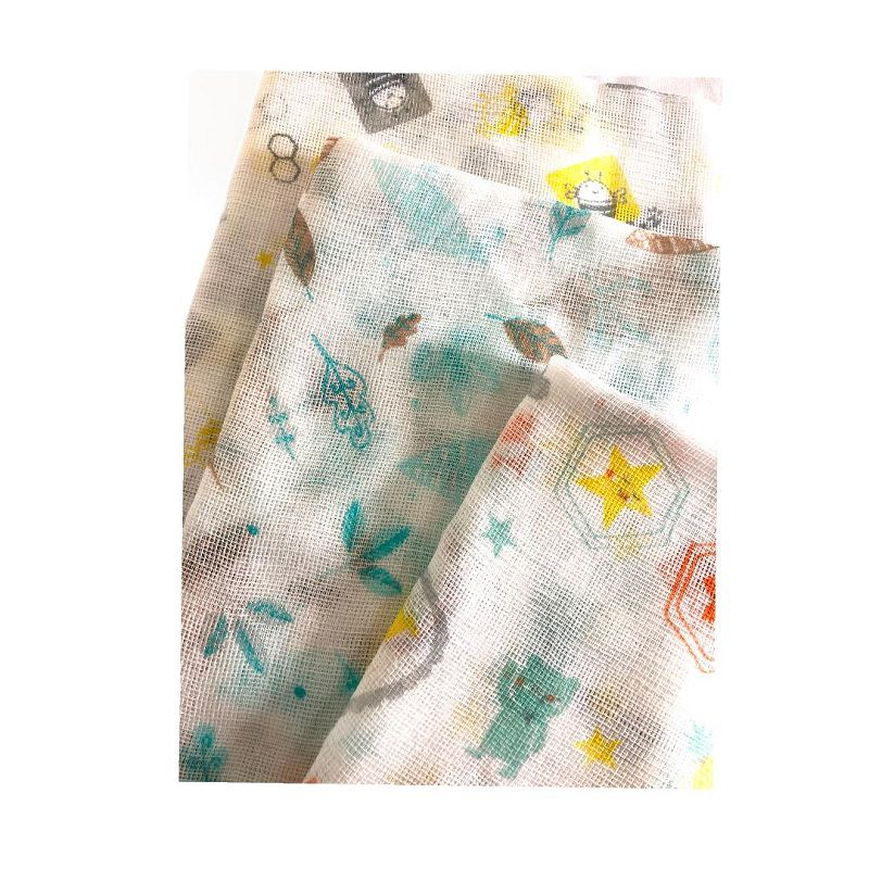 Fralda estampada Neutro 1,20m x 60 cm -  Papi Baby