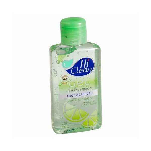Gel Antisséptico Hidratante Para as Mãos - Hi Clean
