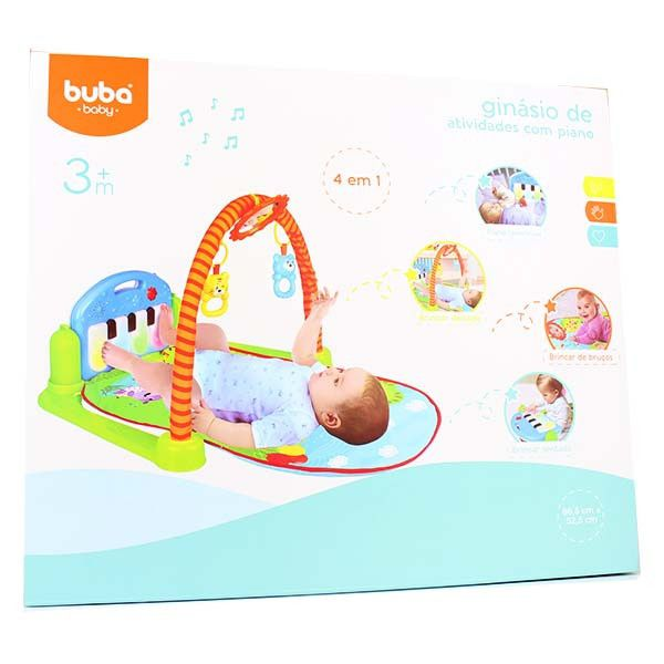 Ginásio de atividades com Piano - Buba Baby