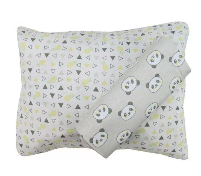 Jogo lençol para Carrinho Pandinha 2 pçs - Incomfral