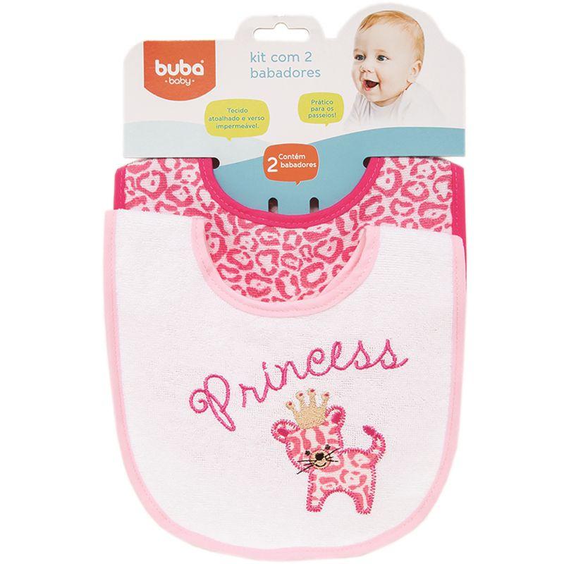 Kit 2 Babadores Oncinha - Buba Baby