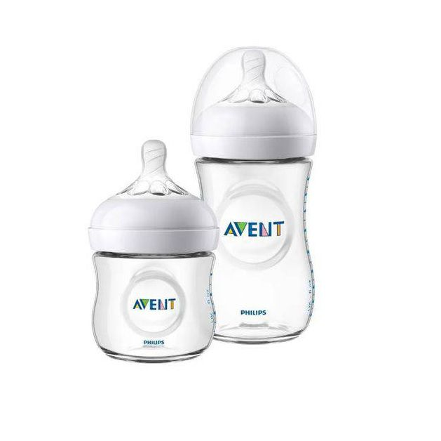 kit 2 Mamadeira Pétala 125ml e 260ml - Philips Avent