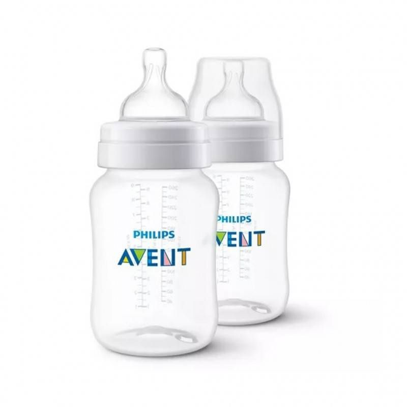 Kit 2 Mamadeiras Airflex 260ml - Philips Avent