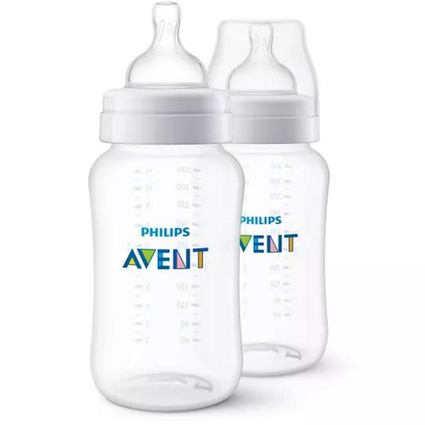 Kit 2 Mamadeiras Airflex 330ml - Philips Avent