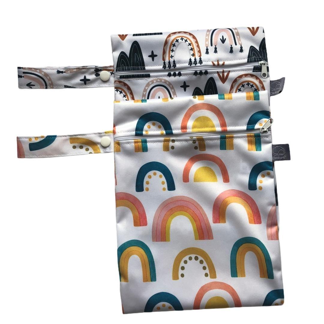 Kit 2 Sacos Para Roupas Impermeável Arcos - Baby