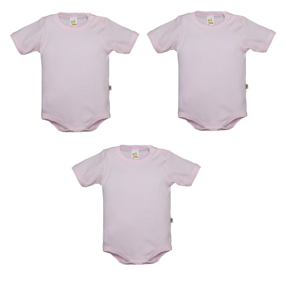 Kit 3 Body  Avulso Rosa - Baby Duck
