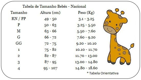 Kit 3 Calças Pé reversível Bebê - Best Club - Tamanho M