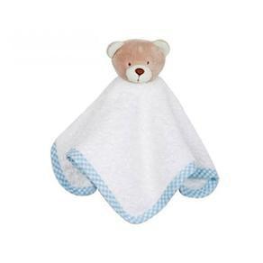 Kit 3 Toalhinhas de boca - Zip Toys  Urso Nino Azul