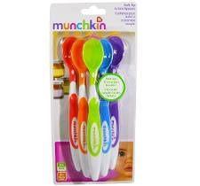 Kit 6 Colheres Coloridas - Munchkin