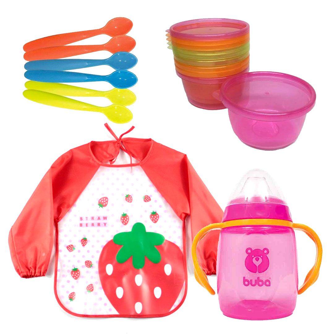 Kit Alimentação Menina - Buba - Kit nº15
