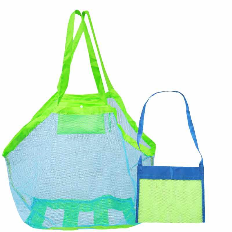 Kit Bolsa de praia azul para brinquedos pais e filhos(a) - Baby