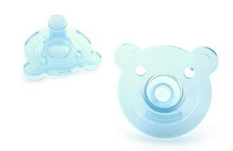 Kit Chupetas Avent Soothie Urso Azul e Verde - Philips Avent