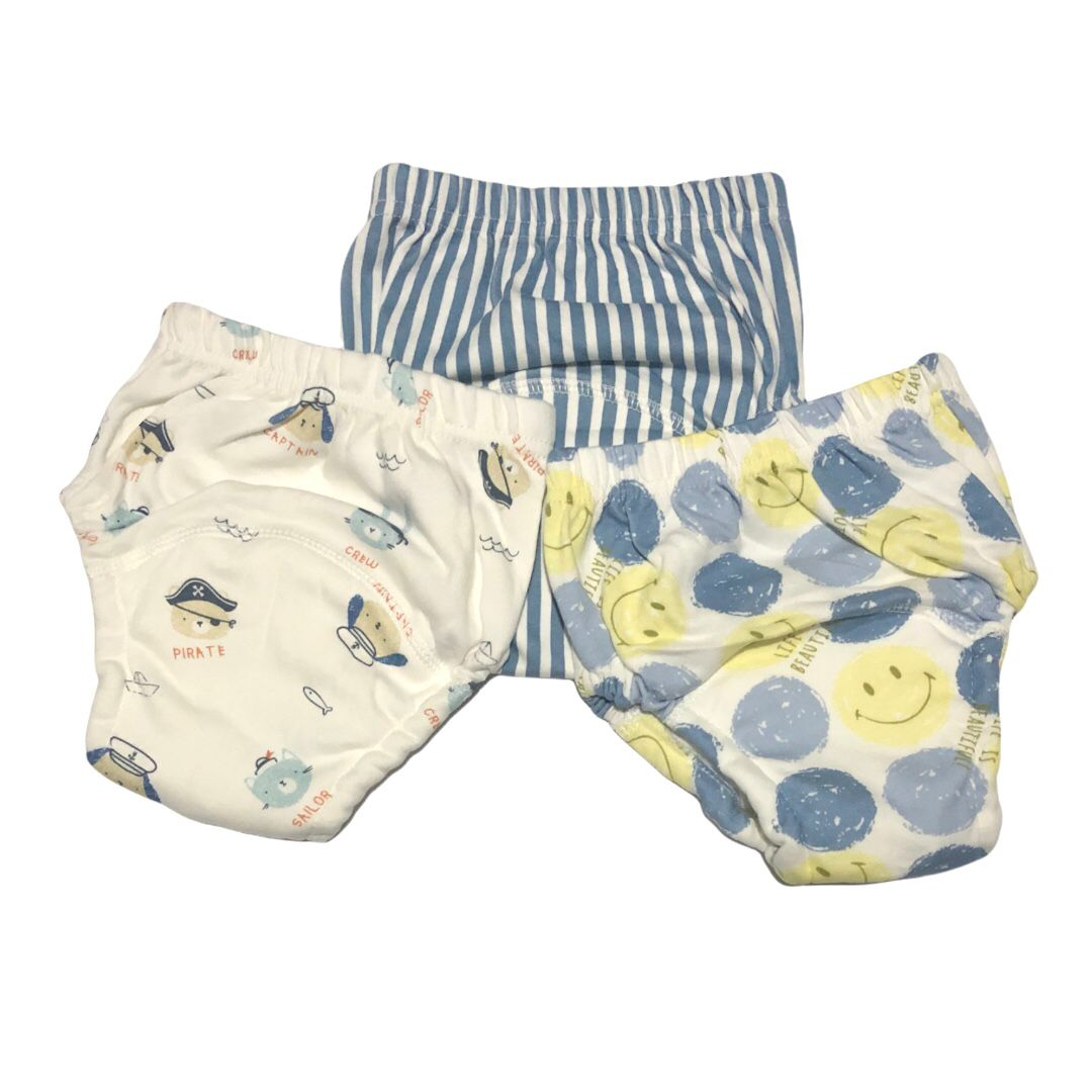 Kit Cueca para Desfralde 3 unds Baby - Listras Smile