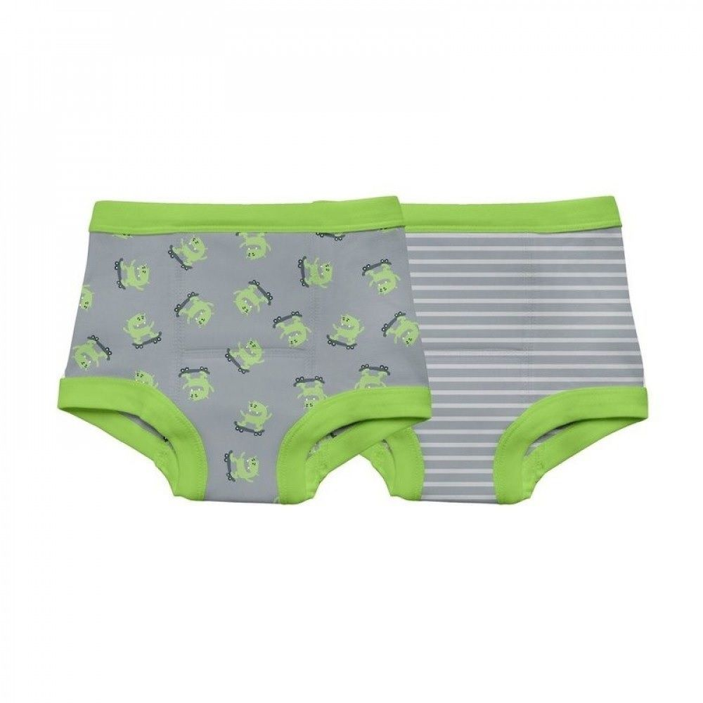 Kit Cueca para Desfralde Monstros Green Sprouts - 2pçs - 18 meses