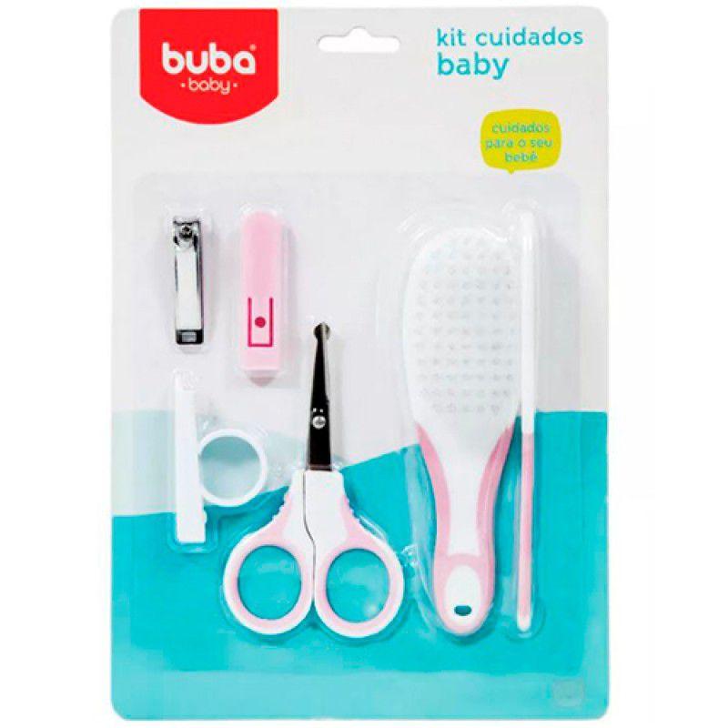 Kit Cuidados Baby Rosa - Buba Baby