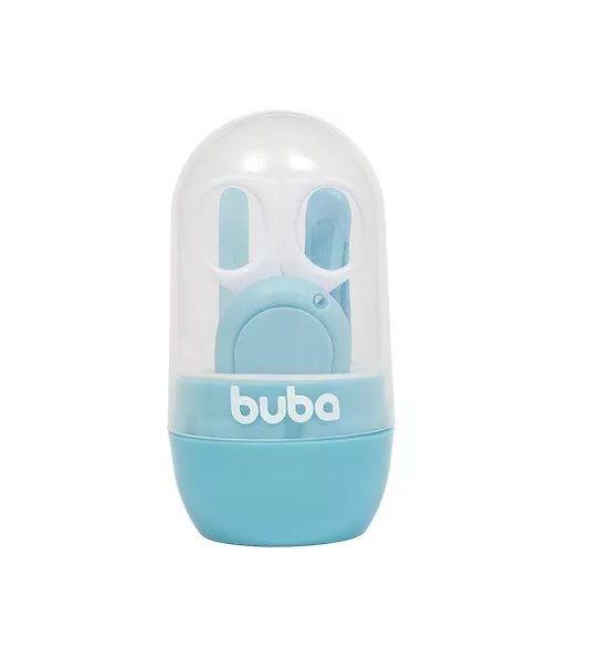 Kit Cuidados com Estojo Baby Azul - Buba Baby
