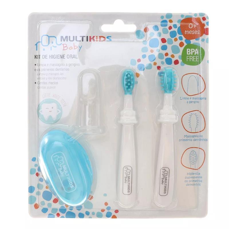 Kit de Higiene Oral Azul - Multikids Baby