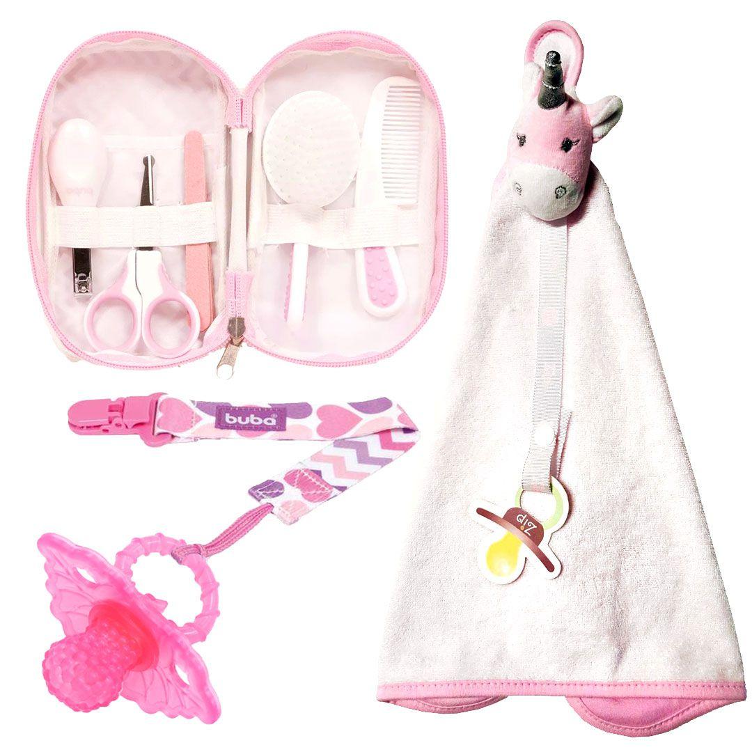 kit especial Bebê Menina - Zip e Buba - Kit nº13