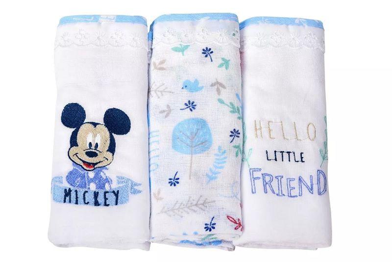Kit Fralda Com Bainha Disney Baby Mickey Mouse - Minasrey