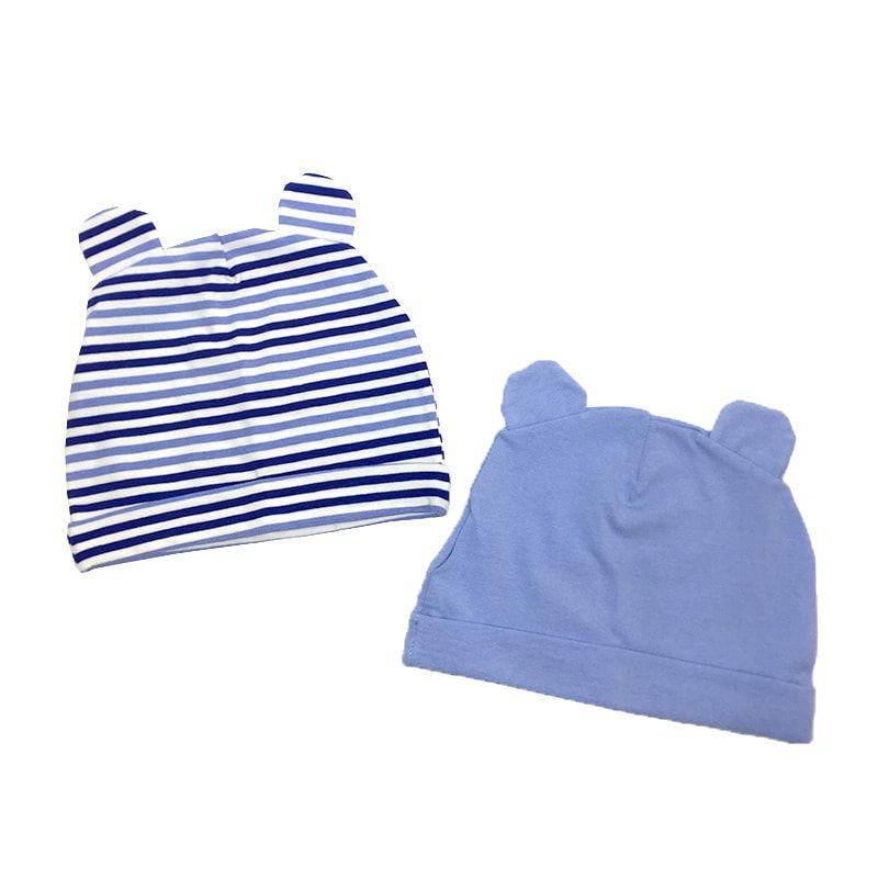 Kit Gorros Orelhinhas - Azul - Zip Toys