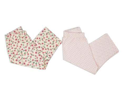 Kit Legging Infantil Flores - 2 Und - Zip Toys