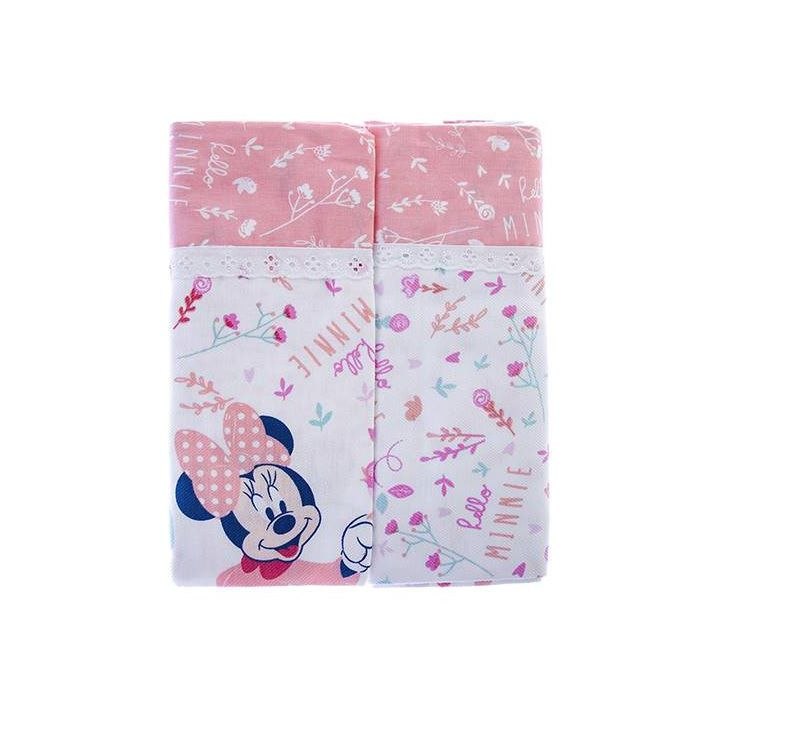 Kit Manta  Cueiros Disney Baby Minnie - Minasrey