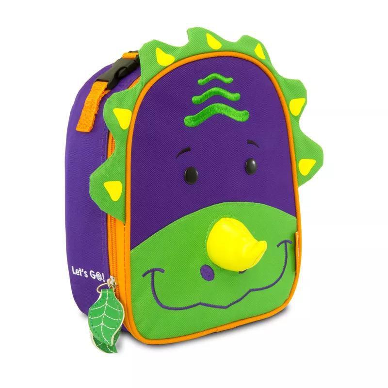 Kit Mochila Let´s Go Dinossauro - Comtac Kids