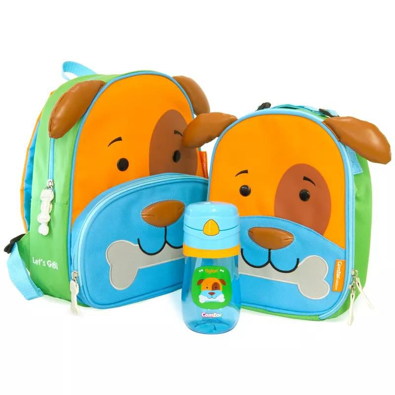 Kit Mochila Let´s Go Dylan - Comtac Kids