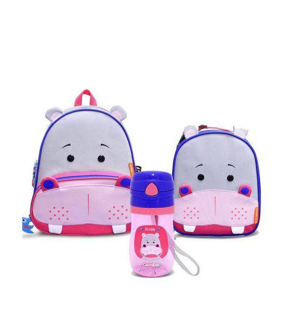 Kit Mochila Let´s Go Hipopótamo - Comtac Kids