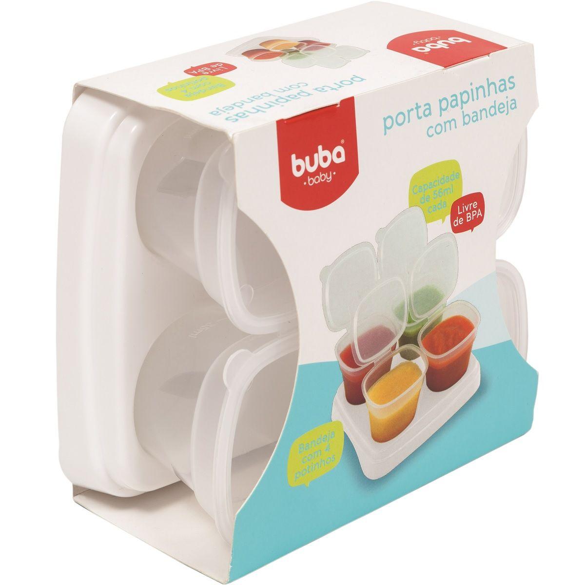 Kit Porta Papinhas com bandeja - Buba Baby