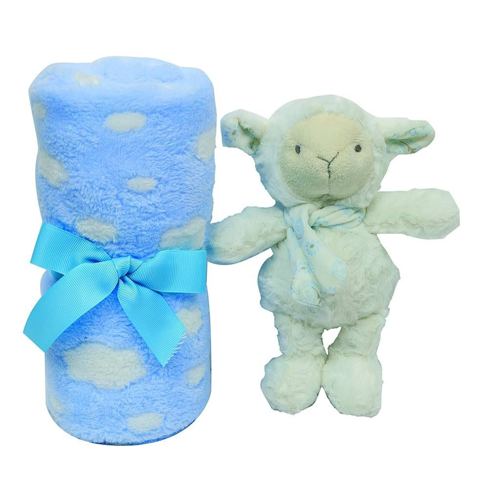 kit presente Ovelhinha azul - Buba Baby