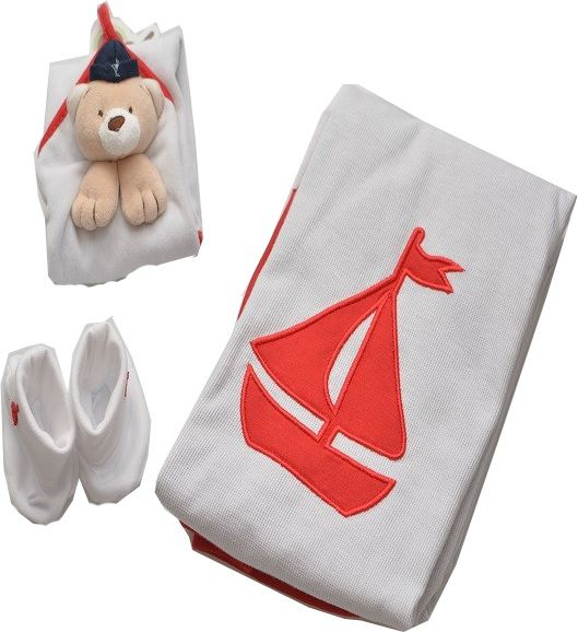 Kit Presente Zip Toys - Ursinho Marinheiro