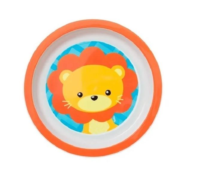 Kit refeição Animal Fun Leão - Buba Baby